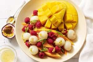 lactose free desserts salads