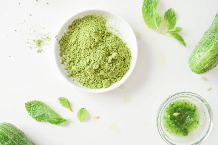 herbal powder for skin